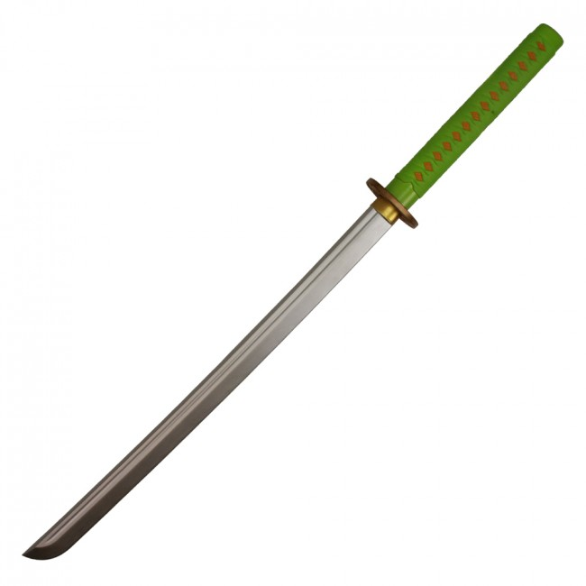 Ninja Katana / Fruit Ninja - Green - Foam