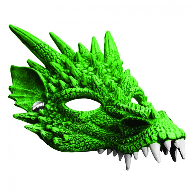 Earth Dragon Foam Mask