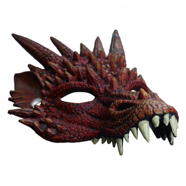 Fire Dragon Foam Mask