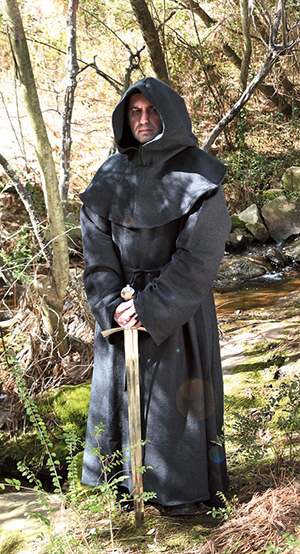Black Monk's Robe