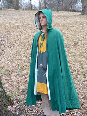 Costume Weight Cotton Cloak